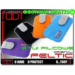 Filcowe etui futerał na Nokia ASHA 200 201 302 C3