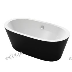 Wanna wolnostojąca Eago BA105 Czarna Biała 170cm