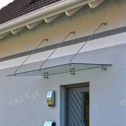 Daszek nad drzwi zadaszenie nad drzwi 200/90cm
