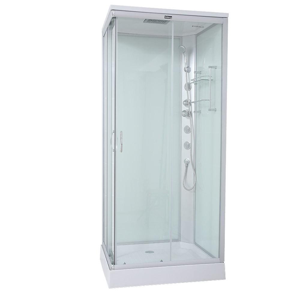 venus kabina prysznicowa przeszklona z bateri i brodzikiem 90 90 cm kabiny prysznicowe home. Black Bedroom Furniture Sets. Home Design Ideas
