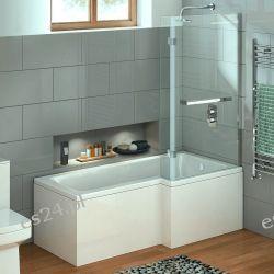 Elara Wanna z parawanem prysznicowym 170/85 cm