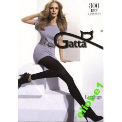 Legginsy damskie 300 den, GATTA size 3