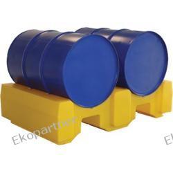 Stanowisko robocze, polietylenowe, moduł podwyższający, żółte