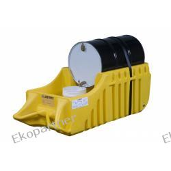 Stanowisko robocze, polietylenowe, ruchome (wózek), do użytku wewnętrznego, Eco 100%, 250l