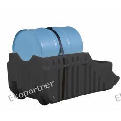 Stanowisko robocze, polietylenowe, ruchome (wózek), do użytku zewnętrznego, Eco 100%, 250l