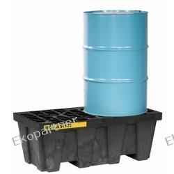 Paleta (wanna) wychwytowa, polietylenowa, Medium Eco 100%, 250 l, 2 beczki