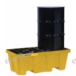 Paleta (wanna) wychwytowa, polietylenowa, Medium Eco 35%, 250 l, 2 beczki