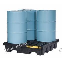 Paleta (wanna) wychwytowa, polietylenowa, Medium Eco 100%, 276 l, 4 beczki (kwadrat)