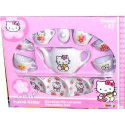 HELLO KITTY KOMPLET PORCELANA SERWIS DO HERBATY