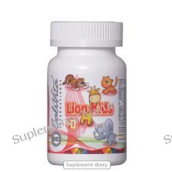 Lion Kids Multivitamin + Vitamin D (90 tabletek)