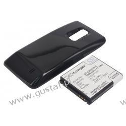 LG Spectrum VS920 4G LTE / BL-49KH 3000mAh Li-Ion 3.7V powiększony czarny (Cameron Sino)
