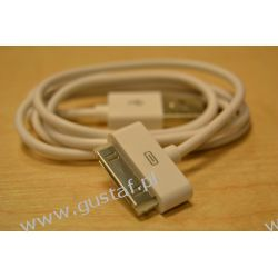 kabel USB iPhone 3/4 biały (gustaf)