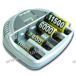 Ansmann Powerline 5 LCD Ładowarka mikroprocesorowa z LCD