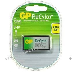 Akumulator GP 6F22 150mAh ReCYKO Ready2Use  8,4V NiMH