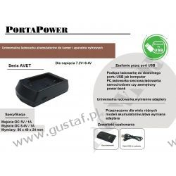 Canon NB-7L ładowarka USB z wymiennym adapterem ACMPE (gustaf)