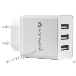 Ładowarka sieciowa do telefonu / smartfona everActive SC-300 3xUSB 3.4A