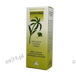 Eliksir krem-balsam - Złoty wąs z Miłorzębem - Kalisia Ginkgo