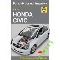 HONDA CIVIC od 2001 do 2005 książka Haynes SKLEP