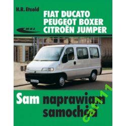 Fiat DUCATO  Peugeot BOXER Citroen JUMPER książka