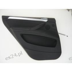 BMW X5 E70 tapicerka boczek lewy tył idealny