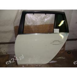 BMW E60 E61 kombi lewe drzwi tył BIAŁE