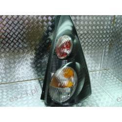 Citroen C1 czarna prawa lampa tył Lampy tylne