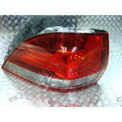 VW Golf VI Variant kombi lewa lampa tył