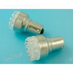 ŻARÓWKA LED T25 BA15S 19 LED - POMARAŃCZOWA (T25 BA15S) JEDNOWŁÓKNOWA