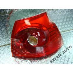 VW Golf V prawa lampa tył kompletna Lampy tylne