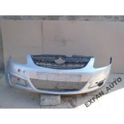 Opel Corsa D zderzak przedni przód oryginał