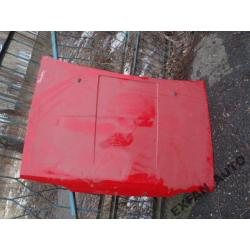 POLONEZ - czerwona maska pokrywa silnika