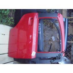 Fiat Panda 5D PRAWE DRZWI TYŁ oryginał czerwone