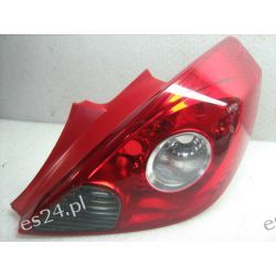 Opel Corsa D prawa lampa tył 3D oryginał Lampy tylne