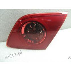 Mazda 3 prawa lampa tył w klape oryginał kompletna