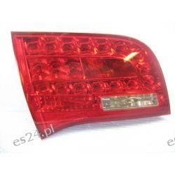 Audi A6 kombi LED lewa lampa w klape tył