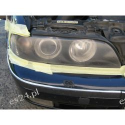 BMW5 E39 regeneracja lamp ksenon