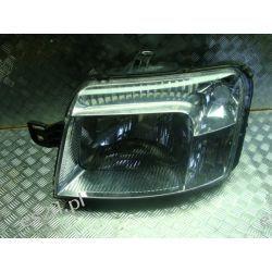 Fiat Panda lewa lampa oryginał+silnik