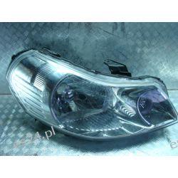 Suzuki sx4, fiat sedici prawa lampa przód przednia