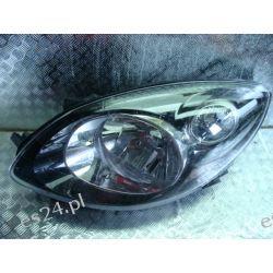 Renault Twingo II lewa czarna lampa przód oryginał
