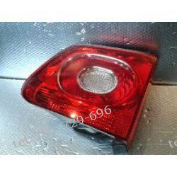 VW Tiguan prawa lampa tył w klape, kompletna z uszczelka i oprawką