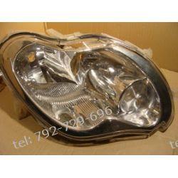 Smart fortwo prawa lampa przód + silniczek, brak 1 uchwytu