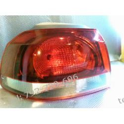 VW GOLF 6  lewa lampa tył z wkładem