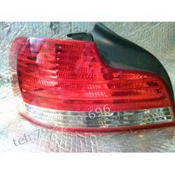 BMW 1 Coupe lewa lampa tył,cała oryginalna