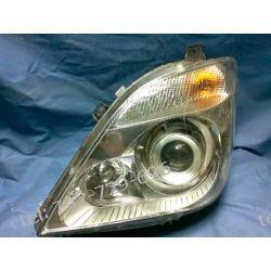 Mercedes Sprinter lewa lampa przód xenon, częściowo uchwyty reperowane +silniczek