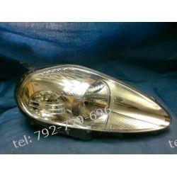 Fiat Grande Punto prawa lampa przód +dekle +silnieczek,
