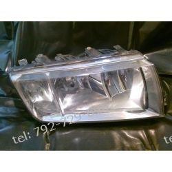 Skoda Fabia prawa lampa przednia srebrna oryginał europa