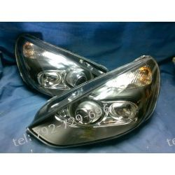 FORD S-MAX, GALAXY, MK3 LAMPY PRZEDNIE TUNING BLACK