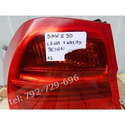 BMW 3 E90 SEDAN LEWA LAMPA TYŁ