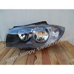 BMW 1 E87 LEWA LAMPA PRZÓD TYC