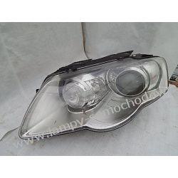 VW PASSAT B6 XENON SKRĘTNY LEWA LAMPA PRZÓD